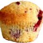 Vadelma muffins
